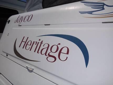 2004 JAYCO HERITAGE POPTOP 16.52-2 1 AXLE Rockhampton 4700 Rockhampton City Preview