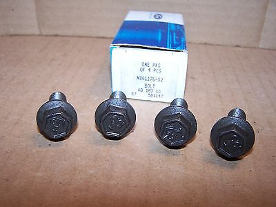 80-93 F-150 F-250 Spare Carrier Support to Frame Bolts 4 of N801176-S2 OEM New