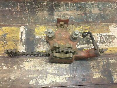 Ridgid Bc-410 Bench Chain Vise 18 To 4 Pipe