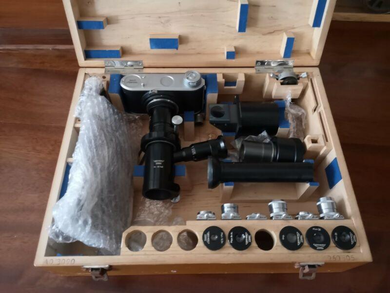 Reichert Austria Microscope Microscope camera Reichert 10746 Set