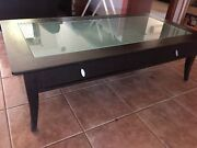 Coffee table glass top Eatons Hill Pine Rivers Area Preview