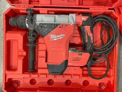 Milwaukee 5546-21 15a 1-34 Sds Max Rotary Hammer - Used W Case