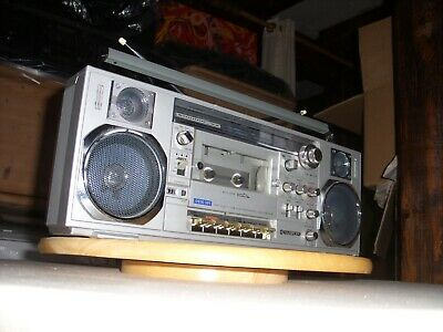 Radiorecorder/Ghettoblaster Sanyo M 7900 - Mini Slim - made in Japan -
