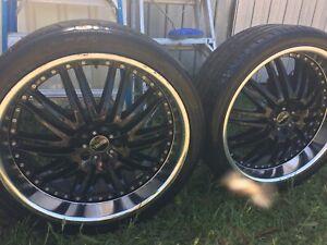 22 inch versus luxury rims