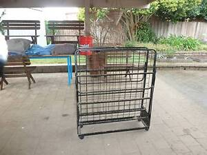 Portable single bed on rollers Melton South Melton Area Preview