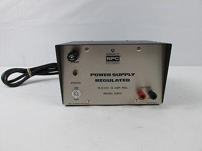Thompson Csf Npc Regulated Power Supply Model 108ra 13.6v Nucleonics Products