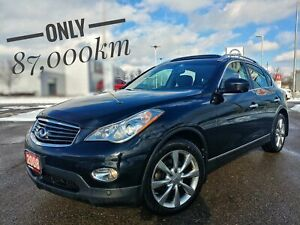 2008 Infiniti EX35 Luxury Leather Roof Navi  FREE Delivery