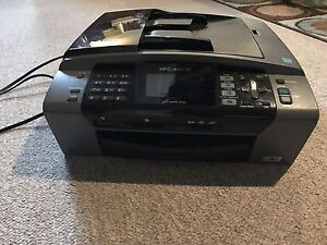Brother MFC-495CW 3-in-1 Wireless Printer Scanner Fax Photocopy