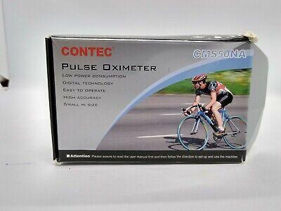 Usa Fingertip Pulse Oxymeterblood Oxygen Spo2 Pr Monitor Oled Cms50na Contec