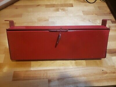 International Ih Farmall Tractor Tool Box Nice Used Original 1066 1468 1566 766