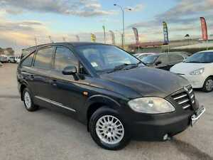 2006 Ssangyong Stavic SV270 SPORTS PLUS 5SP Manual Black 2.7L Diesel 7 Seater Cannington Canning Area Preview
