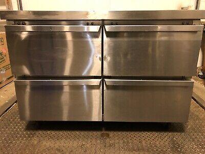 Continental Refrigeration Swf48 48 Undercounter Freezer W Four Drawers