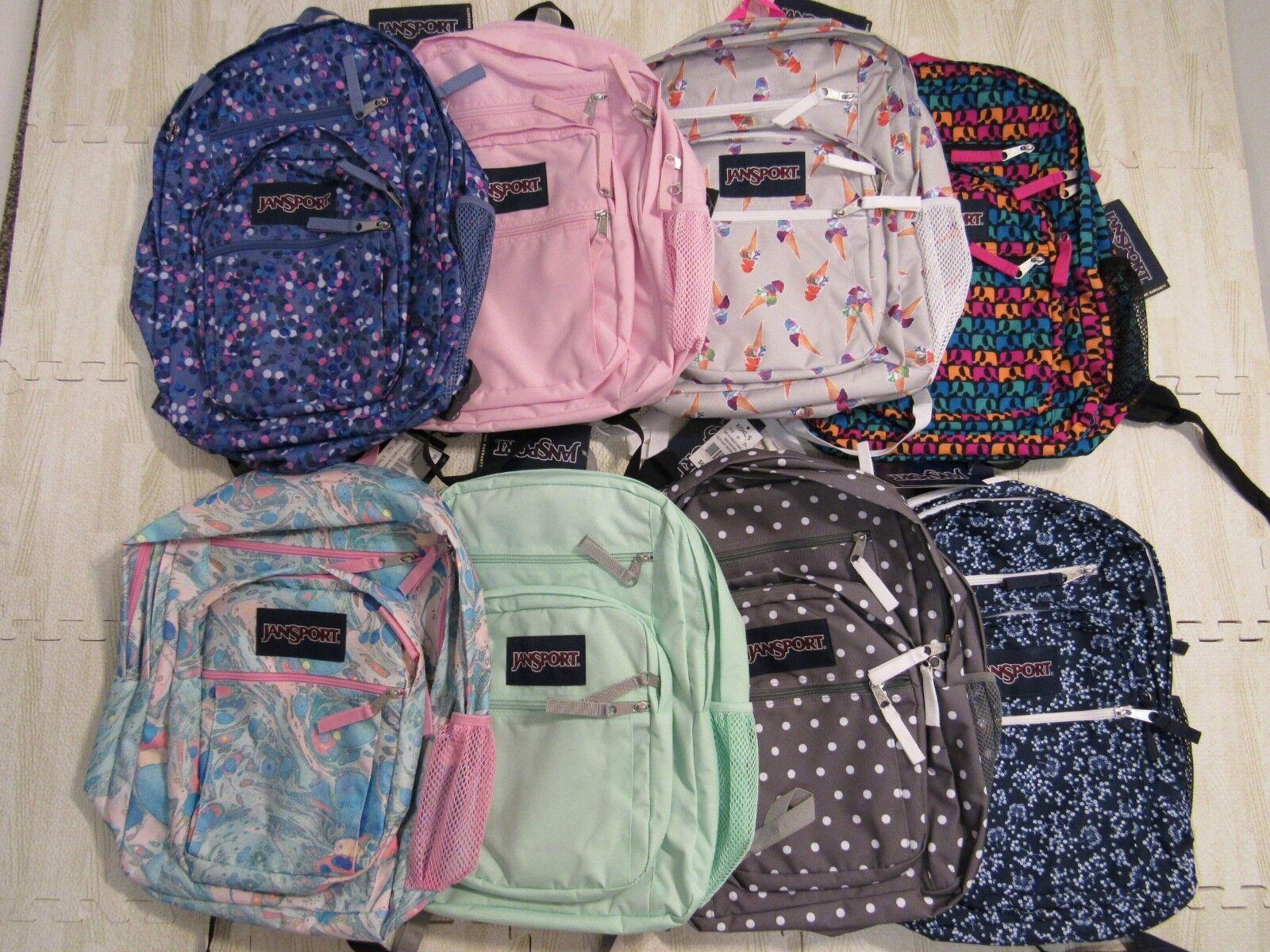 Jansport Big Student Backpack School Book Bag Nwt