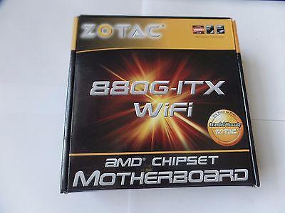 NEW ZOTAC 880G-ITX 880GITX-A-E SOCKET AM3, Mini-ITX, USB 3.0, HDMI