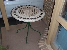 Mozaic Tiled Garden Table Donvale Manningham Area Preview