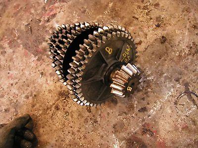 Farmall B Tractor Original Ih Lower Set Transmission Drive Gear Gears Shaft