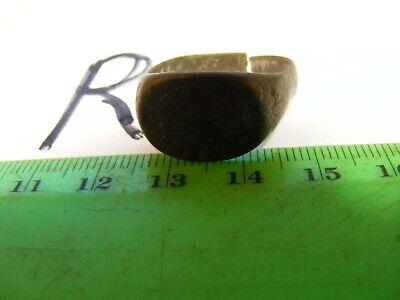 Ancient  Bronze Ring,,Ancient RUSSIAN...unusual motif...(R)