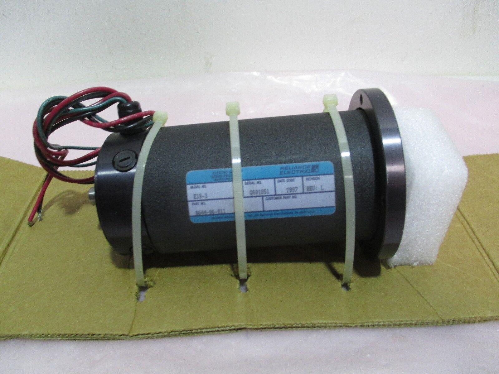 Reliance Electric 0644-06-011 Electrocraft Servo Motor, E19-3, 420973