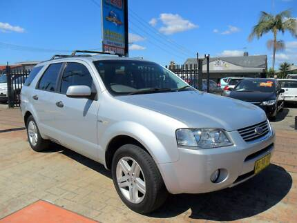 2007 Ford Territory GHIA AWD 4X4 SILVER 5 SEATER Wagon Lansvale Liverpool Area Preview