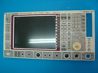 Rohde Fsea Front Panel Lcd 1065.6000.30 A41 Board Keypad Switch