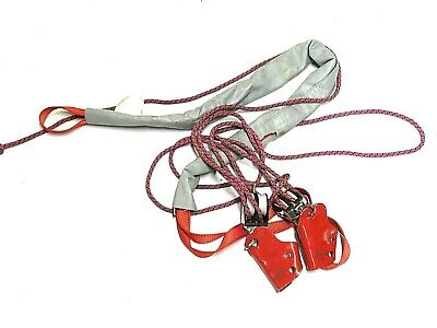 Rollgliss R250 Rescue Kit Replacement Harness And Clips