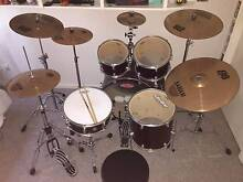 MAPEX Voyager Drumkit with Sabian B8 Symbols Valentine Lake Macquarie Area Preview