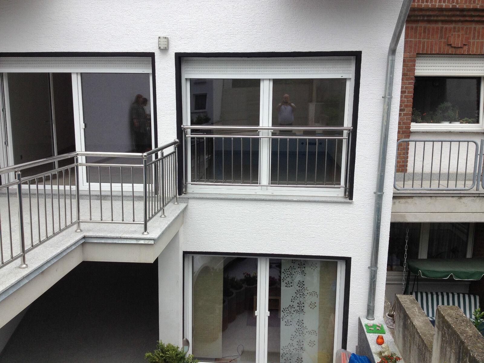 balkon gel nder edelstahl gel nder senkrechte sprossen eur 119 90 picclick de. Black Bedroom Furniture Sets. Home Design Ideas
