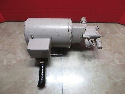 Mazak V-15 Cnc Vertical Mill Nop Hydraulic Motor Pump 13m Wj Wu Nippon Trochoid