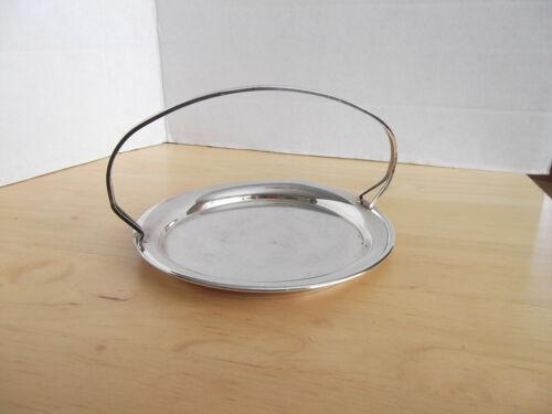Falstaff Silver Plated handled bon bon dish