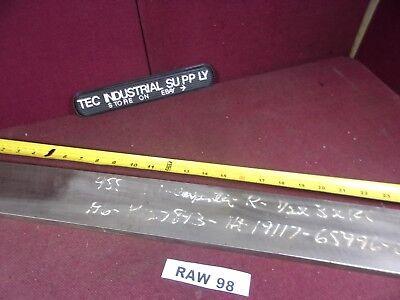 A6 A-6 Tool Steel 12 X 3 X 24 Flat Stock Raw98