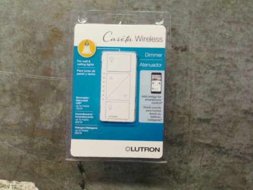 *NEW* Lutron Caseta Wireless Smart Lighting Dimmer Switch (PD-6WCL-WH-R)