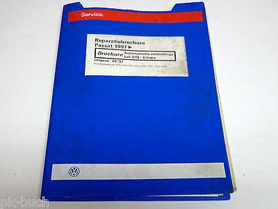 Reparatiebrochure VW Passat B 5 Automatische versnellingsbak 01N - 4-traps ab 97