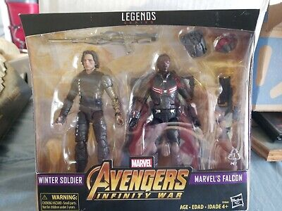 Marvel Legends Avengers Infinity War 2-Pack - Winter Soldier & Falcon Target New
