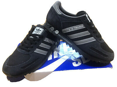 Mens Adidas LA Trainer Trainers UK 8 Black