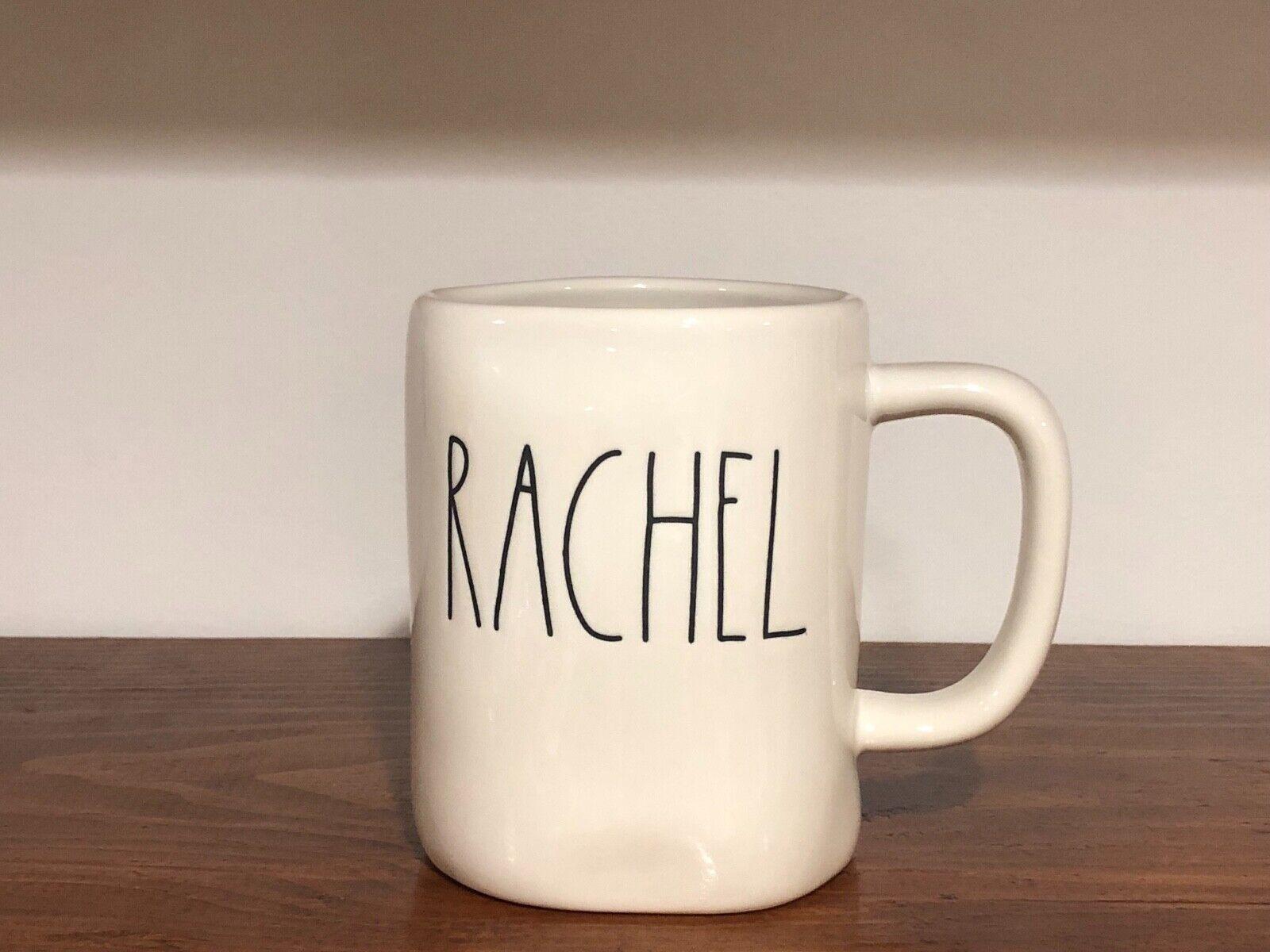 Rae Dunn Artisan Collection By Magenta Farmhouse LL Large Letter Coffee Tea Mug RACHEL