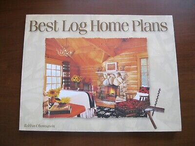 Best Log Home Plans by Obomsawin, Robbin Very Good (Best Log Home Plans)