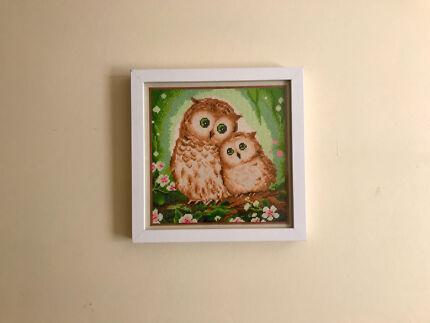 Owl Diamond Painting Picture
