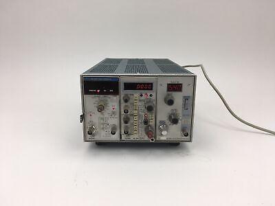 Tektronix Tm503 Mainframe Power Module W Dc508 Dc503 Sc503 Modules