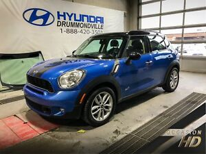 MINI COOPER COUNTRYMAN S + ALL4 + TOIT PANO + MAGS + CUIR + WOW