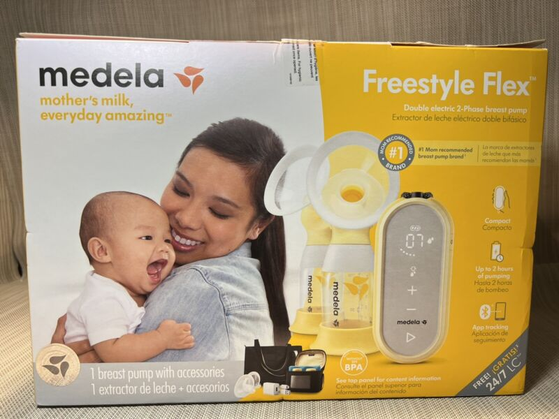 """Medela Freestyle Flex Portable Double Electric Breast Pump NEW IN SEALED BOX"""""""