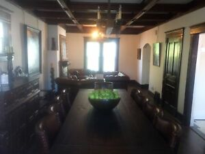 Catheral fully furnished 6 bed 4 bath custom charcter home