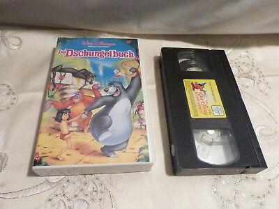Walt Disney's Meisterwerk Das Dschungelbuch / VHS / Rarität / Sammlerstück