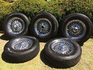 Dunlop Wire Wheels Kalamunda Kalamunda Area Preview