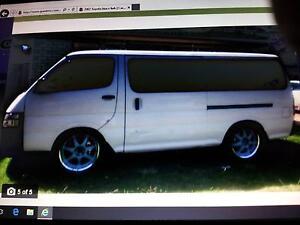 2002 Toyota Hiace Van/Minivan LWB Morpeth Maitland Area Preview
