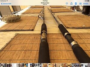 SELL OR TRADE - TWO BRAND NEW OVERHEAD FISHING RODS Golden Grove Tea Tree Gully Area Preview