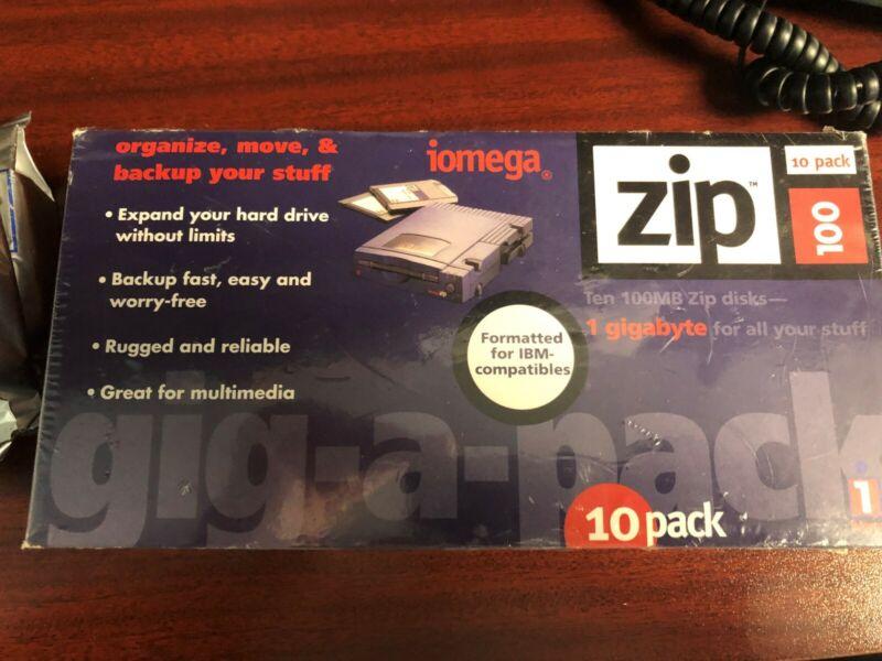 iomega 10 pack zip disk