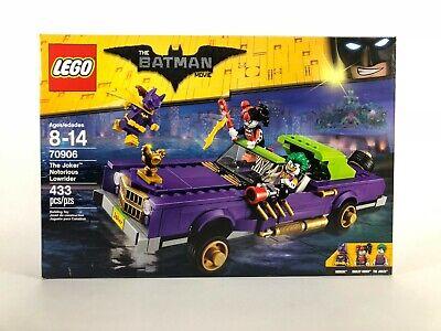LEGO The Batman Movie 70906 The Joker Notorious Lowrider - NEW - SEALED