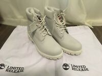 Timberland Ghost White US9