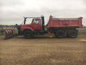 International dump truck