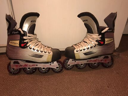 Men's  Vapor Bauer performance Rollerblades  Aspley Brisbane North East Preview